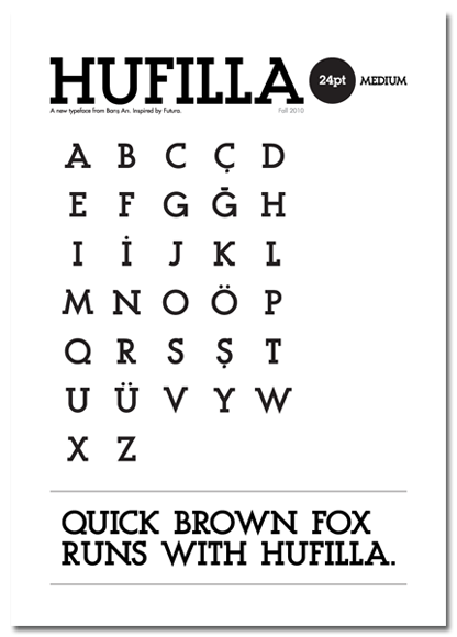 Hufilla The Font 03